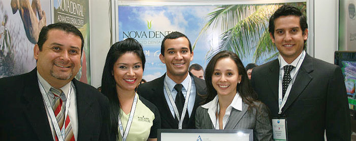 Dr.Luis G. Obando and the Nova Dental Staff with the AAAHC accreditation.